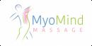 Logo MyoMind Massage met mistachtergrond