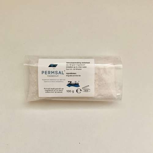 MK100 - Permsal Magnesium Kristallen 100gram