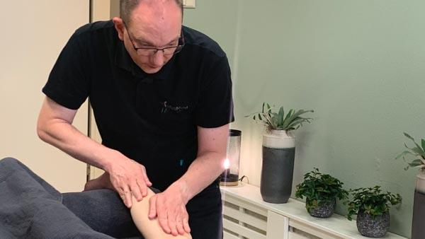 MyoMind Massage - Massagepraktijk collage - Edwin Ietswaard - Kuitmassage 3