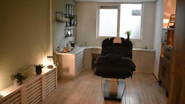 MyoMind Massage - Massagepraktijk collage - Massageruimte close-up