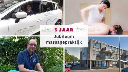 jubileum massagepraktijk 5 jaar