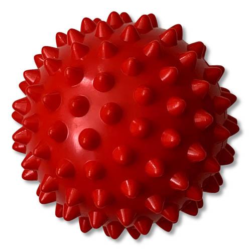 Massage egel 65mm rood